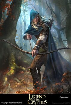 Artist: Jack Wang - Title: Prince of the elves - Card: Village Lookout Ruffing