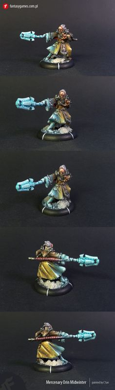 Warmachine Mercenary Orin Midwinter