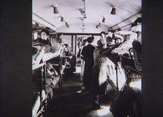 Bernadotte-aktionen. Polske og franske kvinder fra koncentrationslejren Ravensbrück på vej gennem Danmark til Sverige i et lazarettog i april-maj 1945  Tidsperiode og årstal Datering:Mellem April 1945 og Maj 1945 - See more at: http://samlinger.natmus.dk/FHM/26270#sthash.LGMGzHml.dpuf