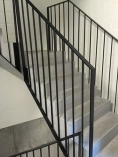 Steel bannister rails