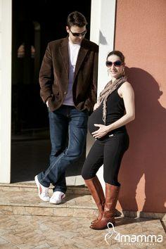 Regata canelada com elástico na barra + legging cigarrete 4mamma  #modagestante #gestante #pregnant #pregnancy #gravida #gravidez #expecting #embarazada