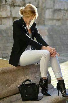 Estilo elegante y casual