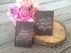 vow books rustic wedding  shabby chic wedding vintage by PineNsign
