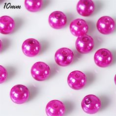 Fuchsia Faux Pearl Beads in for Crafts & Décor. Decorate, use as vase filler or any other practical uses! Available as a pack of 1000 loose beads. Art Nouveau, Pearl Garland, Fascinator Hairstyles, Clay Vase, Wooden Vase, Vase Shapes, Vase Fillers, Fuchsia, Pottery Vase