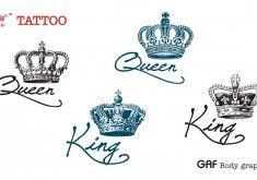 king-and-queen-crown-tattoos-crown-tattoo-men-on-pinterest-cool-guy-tattoos-armpit-tattoo-235x165.jpg (235×165)