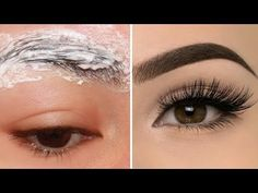 In this video i will show How to grow long thick eyelashes & eyebrows FAST, Guaranteed Longer and thicker eyelashes. grow eyebrows naturally, grow eyebrows n. Long Thick Eyelashes, Thicker Eyelashes, Thick Eyebrows, Longer Eyelashes, Thick Hair, Soft Hair, Henna Eyebrows, Elf Make Up, Bald Hair