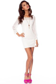 :: contrast shift dress::