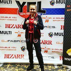 #Stefania #Rosanna Di Lella is klaar voor de #Youth #Super #League in #Almere. Knallen met 450 deelnemers op 4 ringen tijdens dit NK #kickbox #vechtsport #gala. #team #ttc #totaltrainingcenter #ready #kickboxing #k1 #championship