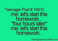 Teenager Posts Of The Week: The 5 Types Of Fear-- SO HILARIOUS