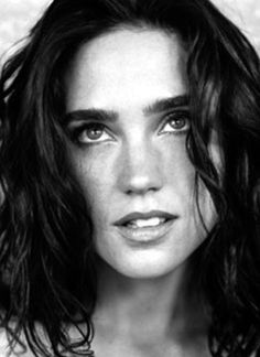 Jennifer Connelly ✾ Academy Award for Best Supporting Actress 2001 A Beautiful Mind Jennifer Connoly, Beautiful People, Beautiful Women, Beautiful Mind, Actrices Hollywood, Black And White Portraits, Classic Beauty, Famous Faces, Woman Face
