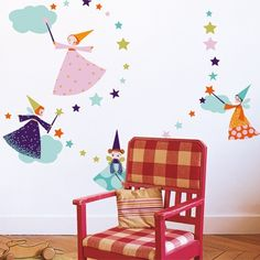 My Sweet Muffin - Fairies Wall Stickers