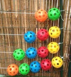 For math fun in our garden we us a ball abacus. Outdoor Maths Ideas - Twinkl Blog