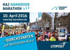 Postkarte zum HAJ Hannover Marathon 2016
