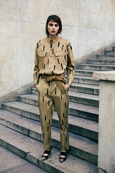 Sonia by Sonia Rykiel's matchy-matchy military set. Le Total Look: Designers Go Head-to-Toe for Pre-Fall