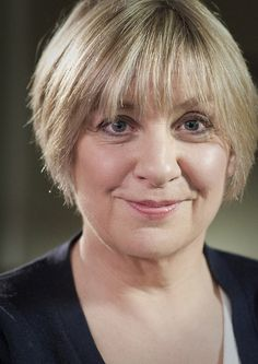 Victoria Wood CBE, (19 May 1953 - 20 April 2016) English comedian, actress, singer, songwriter, screenwriter and director...wonderful comic talent gone far too soon...she will sooo be missed ❤️