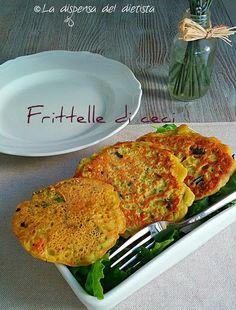 La dispensa del dietista: Frittelle di ceci con verdure