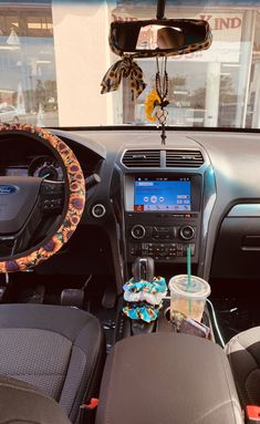 Sunflower car accessories are a must for my new ride! Sunflower car accessories are a must for my new ride! Car Interior Accessories, Car Interior Decor, Cute Car Accessories, Vehicle Accessories, Maserati Ghibli, Bmw I8, Aston Martin Vanquish, Happy Car, Auto Girls