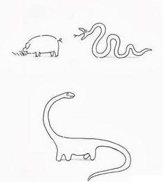 Le diplodocus descend du serpent