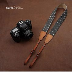Camin Handmade Leather Camera Strap /