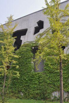 China Academy of Art, Xiangshan campus by Wang Shu, Hangzhou, China, August 2012