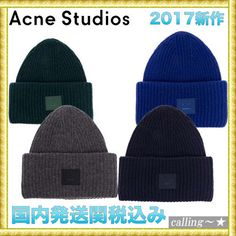 セレブ愛用者多数☆Acne Studios☆PANSY CAP