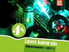 Miniencyklopedie 4 Lasery kolem nás Princip laserů a jejich využití v medicíně, průmyslu a dalších oblastech.