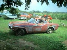 Volvo P1800S 1965...mine was in far worse condition than this until my dad restored it perfectly for me