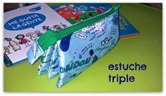 PANDIELLEANDO: Estuche Triple (tutorial)