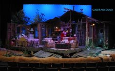 "Theatre Set Design | Civic Theatre production of ""The Sugar Bean Sisters"" - Set Design ..."