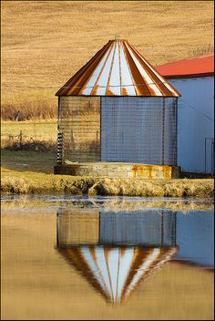 In Iowa, if you have a barn, you probably have a corn crib to go with it.