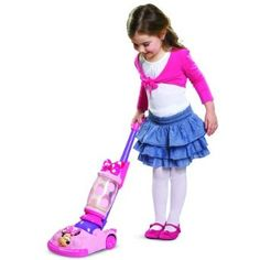 Amazon.com: Disney Minnie Bowtique Vacuum Cleaner: Toys & Games