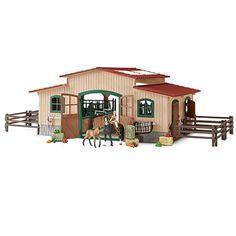Schleich Pferdehof mit Zubehör 42103 bei Spar Toys