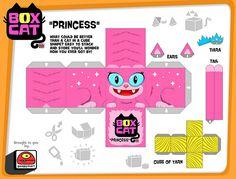 box cat-princess