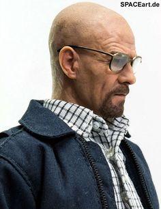 Breaking Bad: Walter White als Heisenberg, Deluxe-Figur (voll beweglich) ... https://spaceart.de/produkte/brb001.php