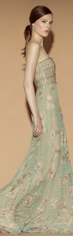 Absolutely stunning mint dress by Valentino