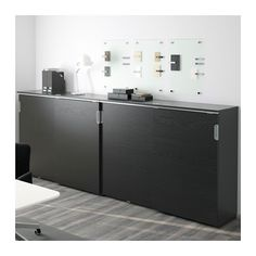 galant aufbewahrung mit schiebet ren wei ikea arbeitszimmer in 2018 pinterest buero. Black Bedroom Furniture Sets. Home Design Ideas