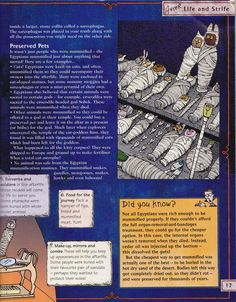 Horrible Histories Magazine # 3 : The Awesome Egyptians Mummy Mania Egyptian Crafts, Egyptian Mummies, Israel History, Ancient World History, Ancient Egypt Lessons, Egypt Games, 6th Grade Reading, Horrible Histories, History Magazine