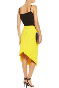 Dion LeeOpacity crepe skirtfront