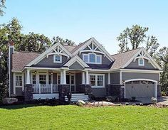 Stunning Craftsman Home Plan - 23256JD   Craftsman, Northwest, Photo Gallery, 1st Floor Master Suite, Butler Walk-in Pantry, CAD Available, Den-Office-Library-Study, PDF, Corner Lot   Architectural Designs