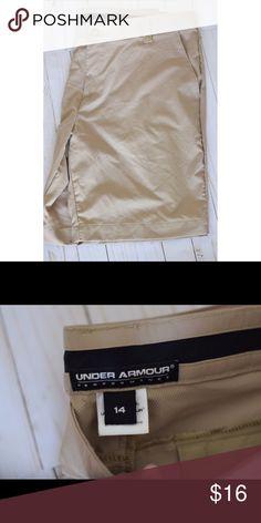 Under Armour Performance Khaki Shorts Size 14 Under Armour Bottoms Shorts