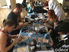 #Curso #higiénico #sanitario #tatuaje #Málaga #junio Próxima convocatoria: del 8 al 11 de junio de 2017 Convocatorias en #Sevilla, Málaga y #Granada