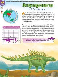 Buku Pintar Ensiklopedia Dinosaurus dan Binatang Purba Katabaca.com Malay Language, Jurassic World, Ipa, Dinosaurs, Studying, Knowledge, Science, Books, Animals