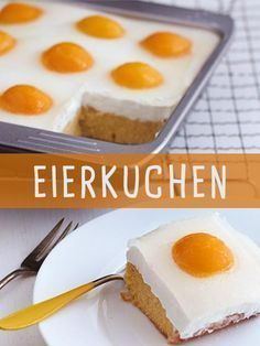 Eierkuchen A recipe for pancakes with a difference: with apricots. What looks like a fried egg cake is a cake with cottage cheese and fruits! Baking Recipes, Dessert Recipes, Cupcake Recipes, Baked Pancakes, Egg Cake, Pancake Cake, Food Cakes, Fall Desserts, Easter Recipes