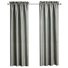 The gray sateen Dimitrios Rod Pocket Panel Pair by Waterford is lined to keep light and sound out of your bedroom. This curtain panel pair matches the. Grey Curtains, Rod Pocket Curtains, Panel Curtains, Curtain Panels, Linen Pillows, Linen Bedding, Waterford Bedding, Pottery Barn Teen Bedding, Black Bed Linen