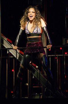 Arianda Fernandez as Mimi Marquez in Rent