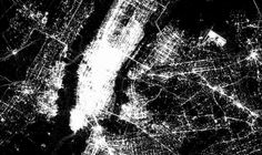 Humanity's digital footprint, as visualized by Foursquare's check-in maps: New York Dime Que No, Digital Footprint, Graphic Design Pattern, New York, Four Square, Decir No, Around The Worlds, City, Web News