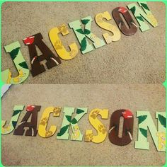 Hand Drawn And Hand Painted Custom Letters Follow And Shop