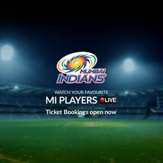 Mumbaikars, it's time to cheer your team on! Book your tickets now, and show your support for the Mumbai Indians!