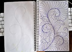 35 May Your Bobbin Always Be Full: Sketch Book.....more Spine Designs