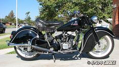 Spud's Garage - 1948 Indian Motorcycle - For Sale